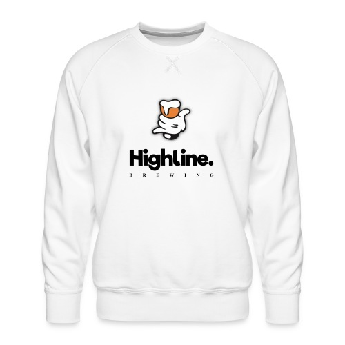 Highline Brewing Logo - Big - Men's Premium Sweatshirt