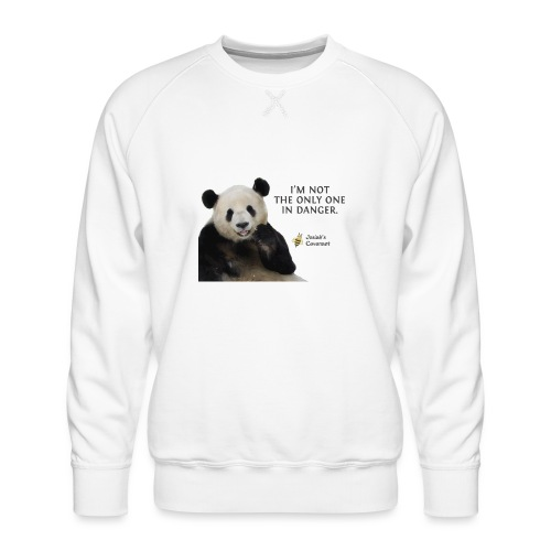 Endangered Pandas - Josiah's Covenant - Men's Premium Sweatshirt