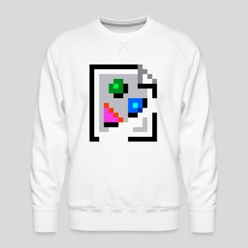 Broken Graphic / Missing image icon Mug - Men's Premium Sweatshirt