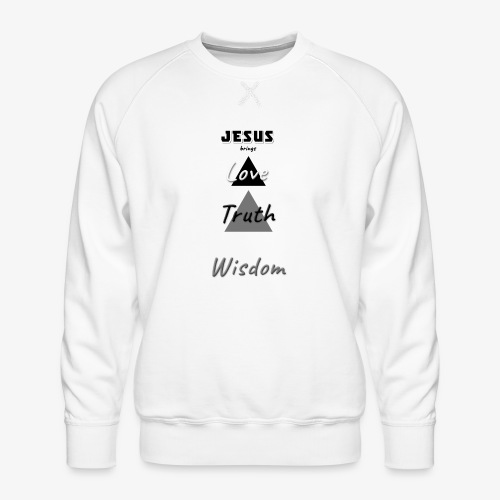 Love Truth Wisdom - Men's Premium Sweatshirt
