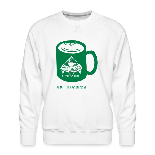 High Grounds Coffee Shop - Men's Premium Sweatshirt