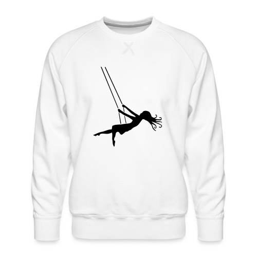 Swinging Girl - Men's Premium Sweatshirt