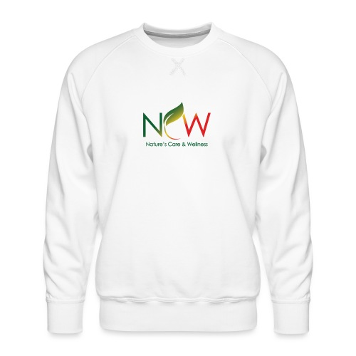 Ncw Big Logo - Men's Premium Sweatshirt