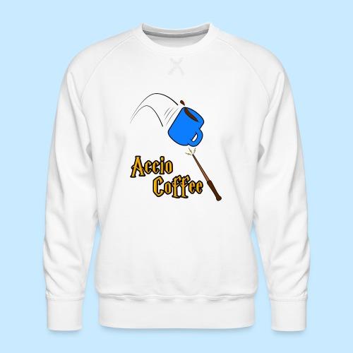 Accio Coffee MUG both v1 png - Men's Premium Sweatshirt