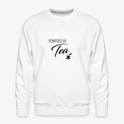 Powered by Tea - Men's Premium Sweatshirt