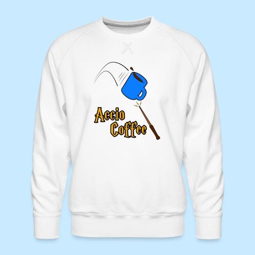 Accio Coffee! (Double Sided) - Men's Premium Sweatshirt
