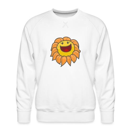 Happy sunflower - Men's Premium Sweatshirt