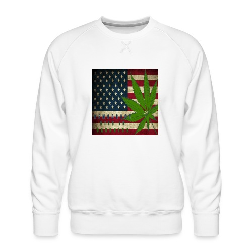Political humor - Men's Premium Sweatshirt