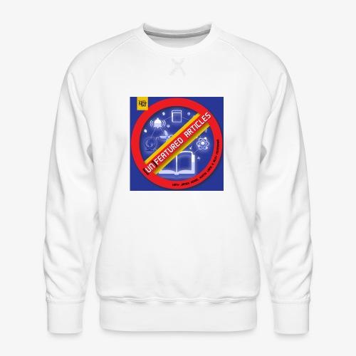 unFeatured Articles Cover - Men's Premium Sweatshirt