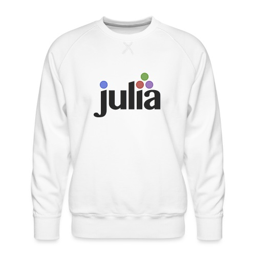 Official Julia Logo - Men's Premium Sweatshirt