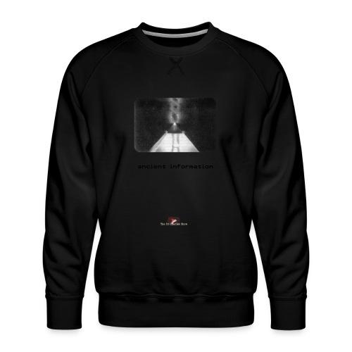 'Ancient Information' - Men's Premium Sweatshirt
