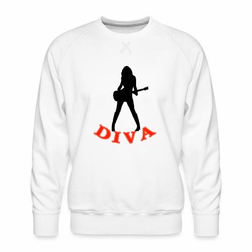 Rock Star Diva - Men's Premium Sweatshirt