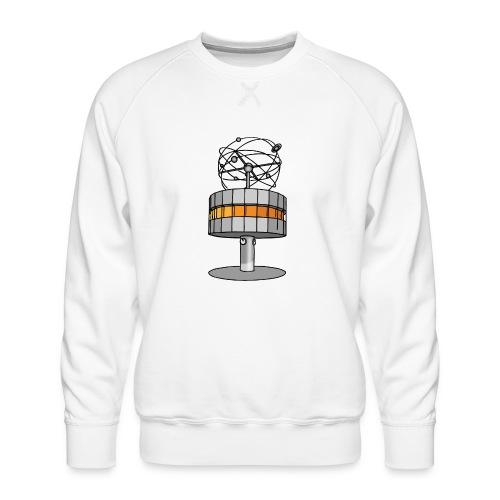 World time clock Berlin - Men's Premium Sweatshirt