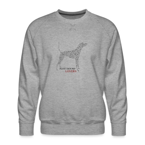 Plott Hound Lovers - Men's Premium Sweatshirt
