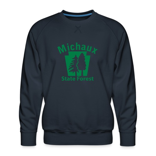 Michaux State Forest Keystone (w/trees) - Men's Premium Sweatshirt