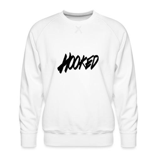 Hooked black logo - Men's Premium Sweatshirt