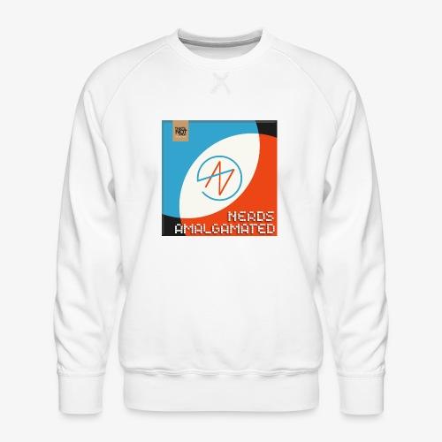 Top Shelf Nerds Cover - Men's Premium Sweatshirt