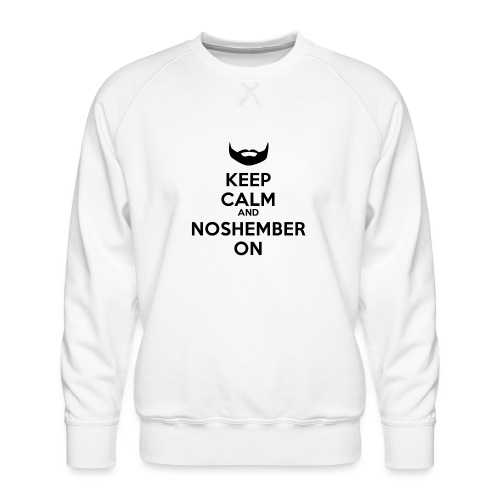 Noshember.com iPhone Case - Men's Premium Sweatshirt