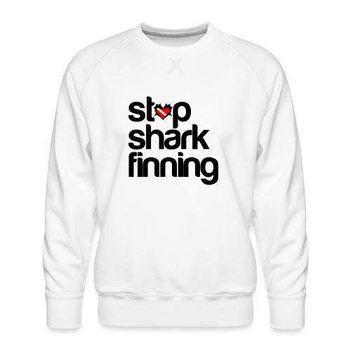 Stop Shark Finning - Men's Premium Sweatshirt