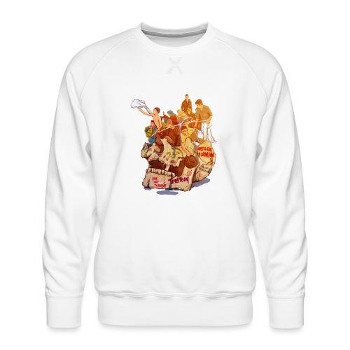 Skull & Refugees - Men's Premium Sweatshirt