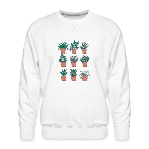 Flowerpots - Men's Premium Sweatshirt