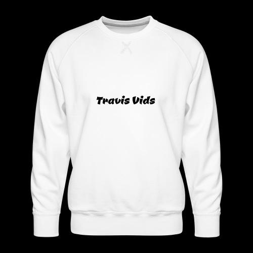 White shirt - Men's Premium Sweatshirt