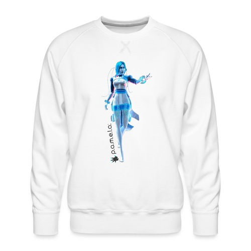 P.A.M.E.L.A. Figure - Men's Premium Sweatshirt