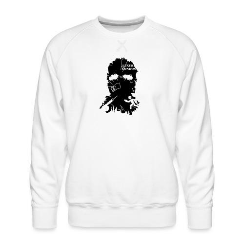 broken mask logo - Men's Premium Sweatshirt