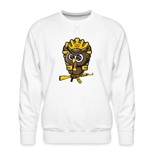 king otrg owl - Men's Premium Sweatshirt