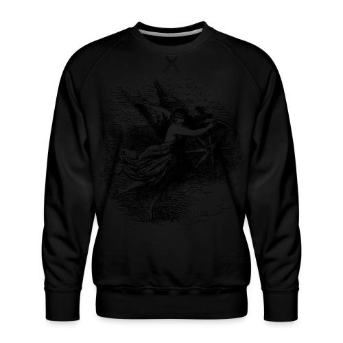 Angel at the helm - Men's Premium Sweatshirt