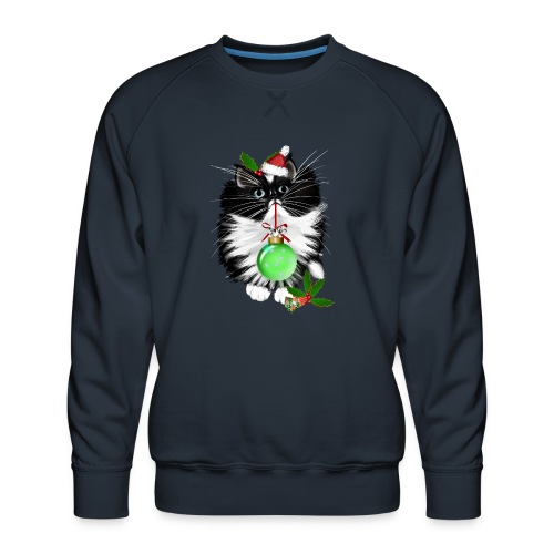 A Tuxedo Merry Christmas - Men's Premium Sweatshirt