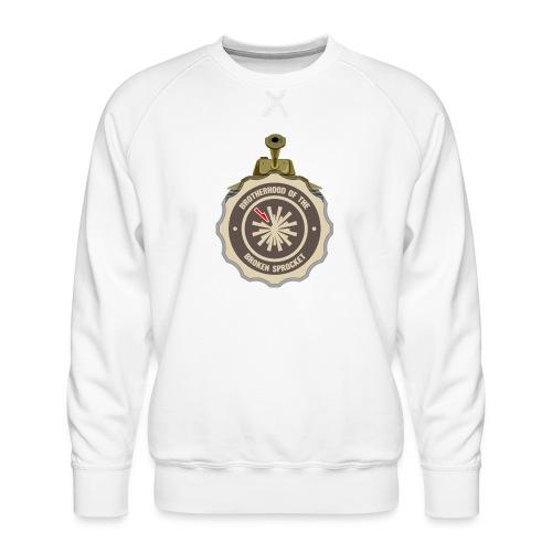 Brotherhood of the Broken Sprocket - Men's Premium Sweatshirt