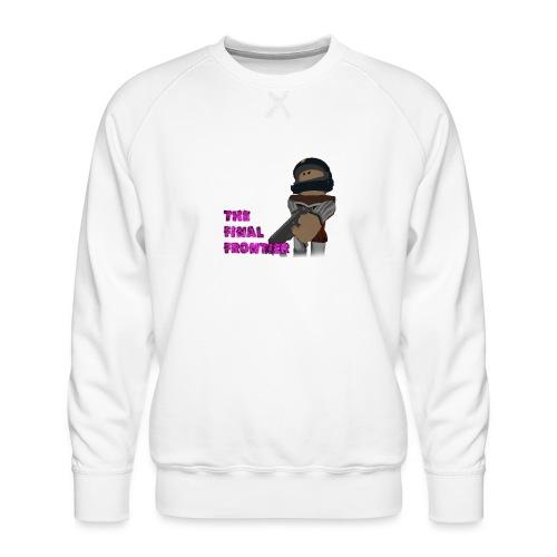 The Final Frontier - Men's Premium Sweatshirt