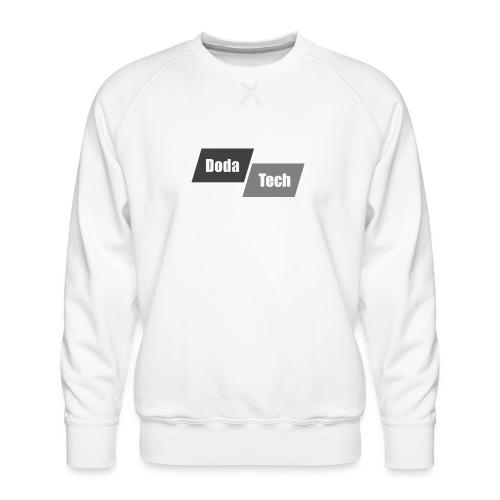 DodaTech Logo - Men's Premium Sweatshirt