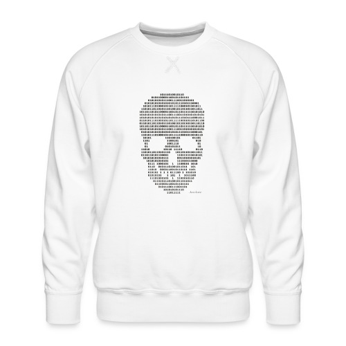 Hacker binary - Mens - Men's Premium Sweatshirt