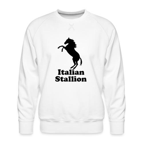 Italian Stallion - Men's Premium Sweatshirt