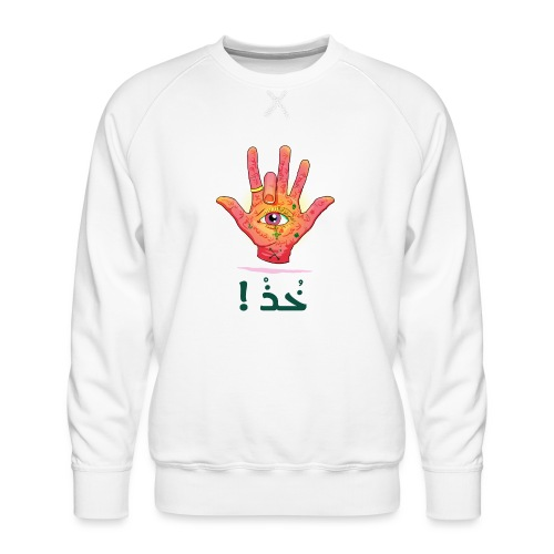 Sba3 Middel finger of Middel East - Men's Premium Sweatshirt