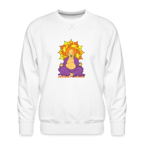 Laughing At You Buddha - Men's Premium Sweatshirt