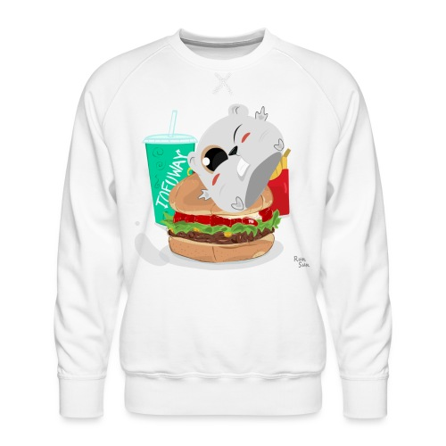 Fast Food Sun - Men's Premium Sweatshirt