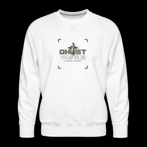 Ghostware Square Logo - Men's Premium Sweatshirt