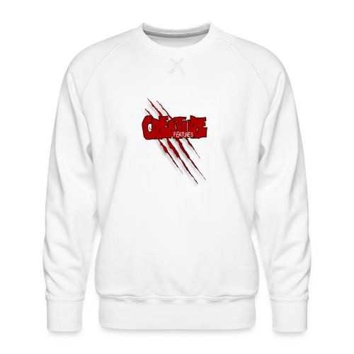 Creature Features Slash T - Men's Premium Sweatshirt