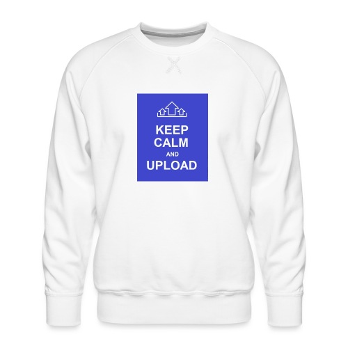 RockoWear Keep Calm - Men's Premium Sweatshirt