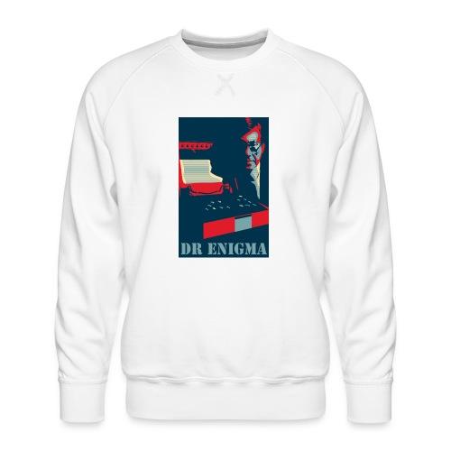 Dr Enigma+Enigma Machine - Men's Premium Sweatshirt