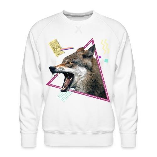 wild wolf - Men's Premium Sweatshirt