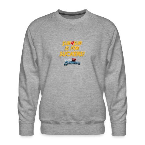 Anti Sub4Sub - Men's Premium Sweatshirt