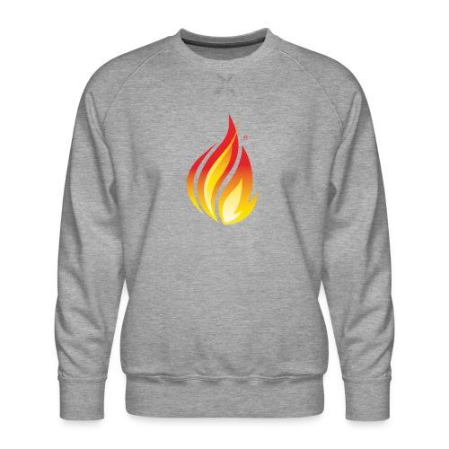 HL7 FHIR Flame Logo - Men's Premium Sweatshirt