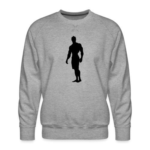 Mens Physique Competitor 3 - Men's Premium Sweatshirt