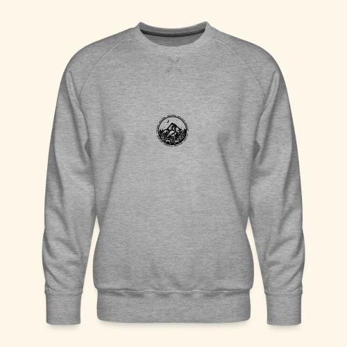 Bellingen Mountain Ranges - Men's Premium Sweatshirt