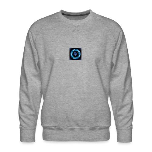 MY YOUTUBE LOGO 3 - Men's Premium Sweatshirt