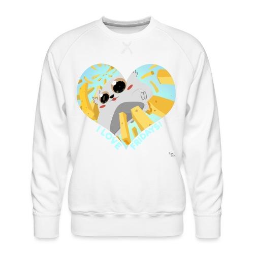 I Love Fridays! - Men's Premium Sweatshirt